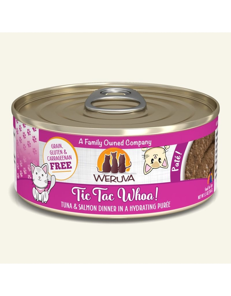 Weruva Weruva Cat Pates Canned Cat Food Tic Tac Whoa! 5.5 oz single