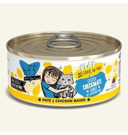 Weruva Best Feline Friend PLAY Land & Sea Pate | Chicken Checkmate Dinner in Puree 5.5 oz single