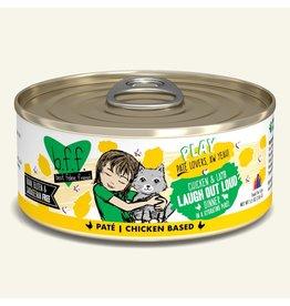 Weruva Best Feline Friend PLAY Land & Sea Pate   Chicken & Lamb Laugh Out Loud Dinner in Puree 5.5 oz single