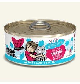 Weruva Weruva BFF PLAY Land & Sea Pate | Duck & Tuna Trickster Dinner in Puree 5.5 oz single