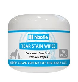 Nootie Nootie Dog & Cat Tear Stain Wipes 60 ct