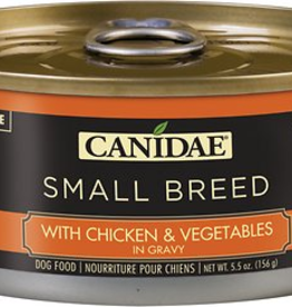 Canidae Canidae Small Breed Chunks Canned Dog Food | CASE Chicken & Vegetables in Gravy 5.5 oz