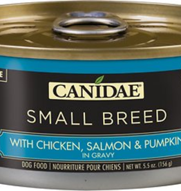 Canidae Canidae Small Breed Shreds Canned Dog Food | CASE Chicken, Salmon & Pumpkin in Gravy 5.5 oz
