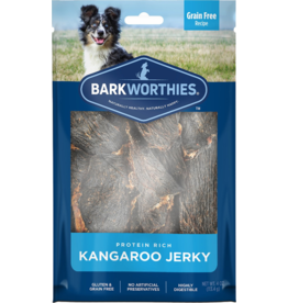 Barkworthies Barkworthies Dog Jerky Treats  Kangaroo Jerky 4 oz
