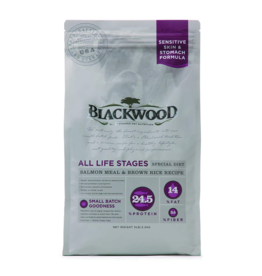 Blackwood Dog Kibble Sensitive Diet Salmon 5 lb