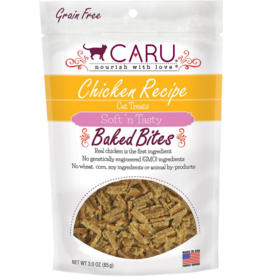 Caru Caru Baked Cat Treats Chicken 3 oz