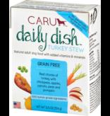 Caru Caru Dog Daily Dish Stew Turkey 12.5 oz single