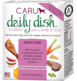 Caru Caru Dog Daily Dish Stew Turkey/Lamb 12.5 oz single