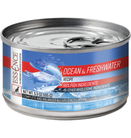 Pets Global Essence Ocean & Freshwater Canned Cat Food 5.5 oz single
