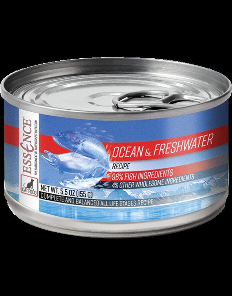 Essence Ocean & Freshwater Recipe Canned Cat Food 5.5 oz single