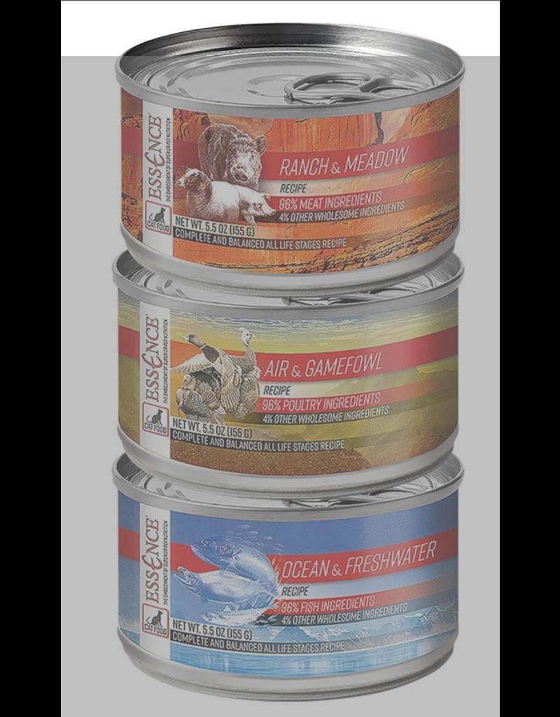 Essence Ocean & Freshwater Canned Cat Food 5.5 oz single