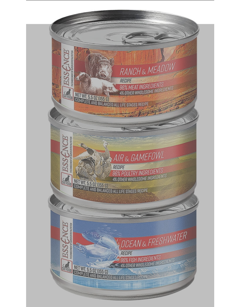 Pets Global Essence Ocean & Freshwater Canned Cat Food 5.5 oz single