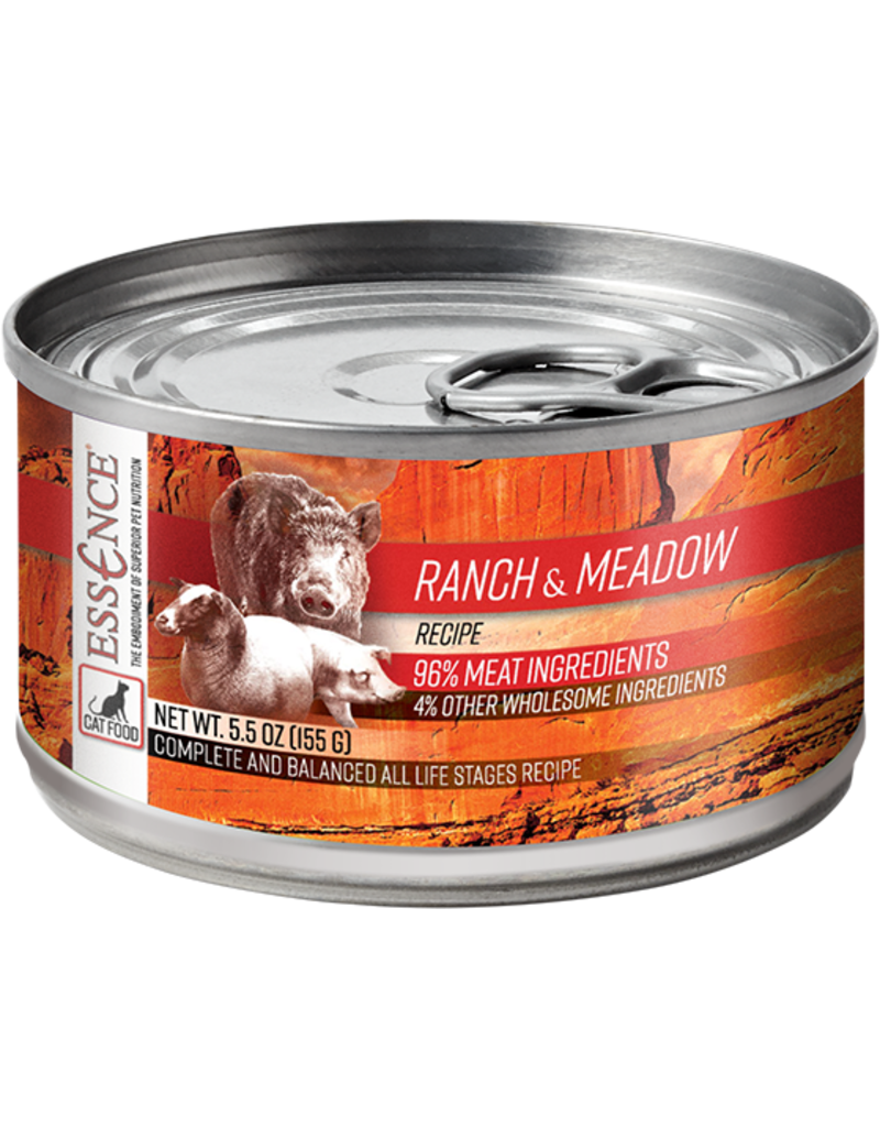 Pets Global Essence Ranch & Meadow Canned Cat Food 5.5 oz single