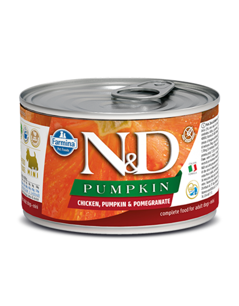 Farmina Pet Foods Farmina GF Dog Cans Pumpkin Chicken & Pomegranate Mini Adult 4.9 oz single