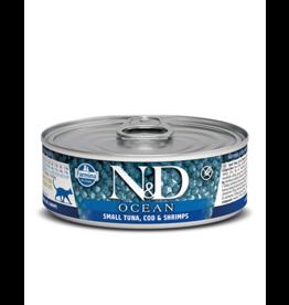 Farmina Pet Foods Farmina GF Cat Cans Ocean Tuna, Cod, Shrimp & Pumpkin 2.8 oz single