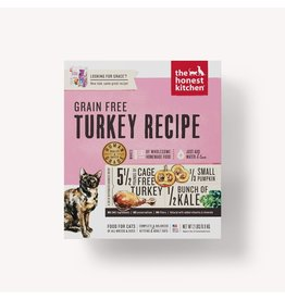 The Honest Kitchen The Honest Kitchen Dehydrated Grain Free Cat Food Grace Turkey Recipe 2 lbs