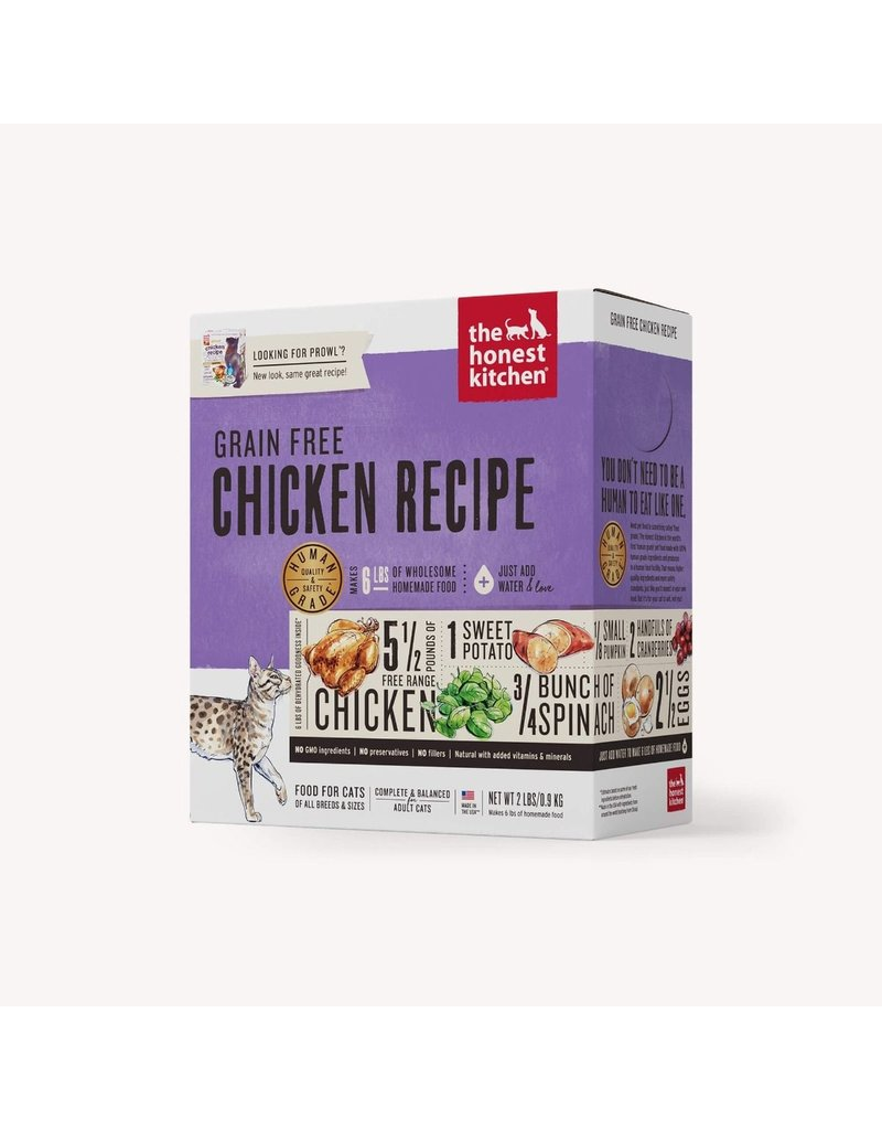 The Honest Kitchen The Honest Kitchen Dehydrated Grain Free Cat Food Prowl Chicken Recipe 2 lbs