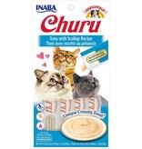 Inaba Inaba Churu Puree Cat Treats Tuna w/ Scallop 2 oz single