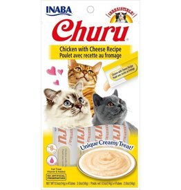 Inaba Inaba Churu Puree Cat Treats Chicken w/ Cheese 2 oz single