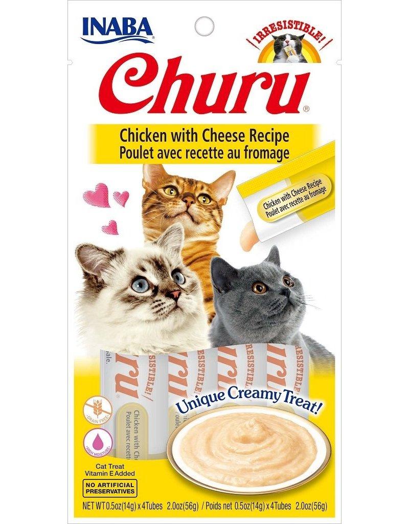 Inaba Inaba Churu Puree Cat Treats Chicken w/ Cheese 2 oz single