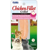 Inaba Inaba Fillets Cat Treats Chicken in Crab Broth .9 oz single