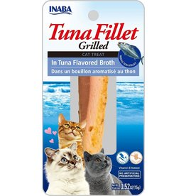 Inaba Inaba Fillets Cat Treats Tuna in Tuna Broth .52 oz single