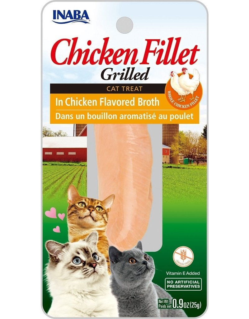 Inaba Inaba Fillets Cat Treats Chicken in Chicken Broth .9 oz single