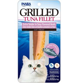 Inaba Inaba Fillets Cat Treats Extra Tender Tuna in Tuna Broth 0.52 oz single