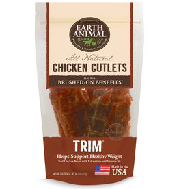 Earth Animal Earth Animal Dog Jerky Treats Trim Chicken 8 oz
