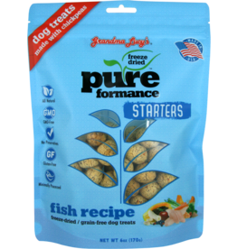 Grandma Lucy's Grandma Lucy's Starters 6 oz Pureform Fish