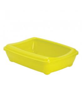 Moderna Open Litter Box Lemon Jumbo Rim 22.5 in