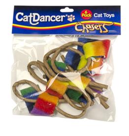 Cat Dancer Cat Dancer Cat Toys Chasers 6 Pk