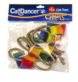 Cat Dancer Cat Dancer Cat Toys Chasers 6 Pk
