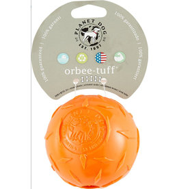 Planet Dog Planet Dog Orbee Tuff Diamond Plate Orange 4""