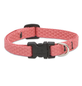 """Lupine Eco Collar 1/2"""" Coral 8""""-12"""""""