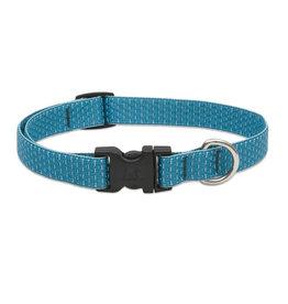 """Lupine Eco 3/4"""" Dog Collar   Tropical Sea 9""""-14"""""""