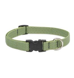 """Lupine Eco 3/4"""" Dog Collar   Moss 9""""-14"""""""