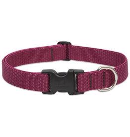 "Lupine Eco 1"" Dog Collar | Berry 12""-20"""
