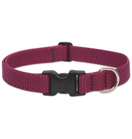 "Lupine Eco Collar 1"" Berry 12""-20"""