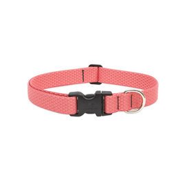 "Lupine Eco Collar 1"" Coral 16""-28"""