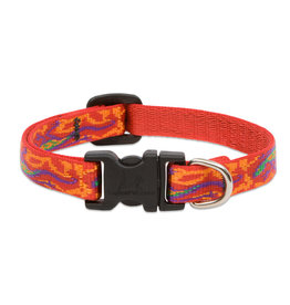 "Lupine Originals Collar 1/2"" Go Go Gecko 6""-9"""