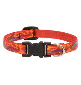 "Lupine Originals Collar 3/4"" Go Go Gecko 9""-14"""