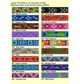 """Lupine Originals Leashes 3/4"""" Jelly Roll 6'"""