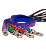 """Lupine Originals Leashes 3/4"""" Jelly Roll 4'"""