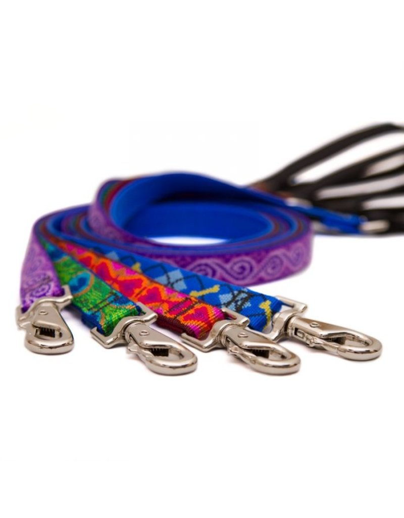 "Lupine Originals Leashes 1/2"" Jelly Roll 4'"