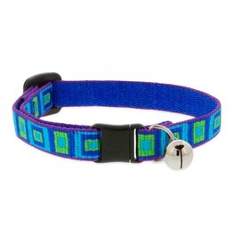 Lupine Cat Safety Collar | Sea Glass