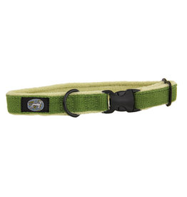"Planet Dog Planet Dog Cozy Hemp Collars Apple Green Medium 12""-19"""