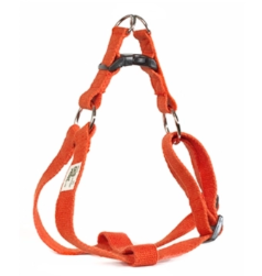 Earthdog Hemp Harness Tangerine Large