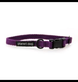 "Planet Dog Planet Dog Cozy Hemp Collars Purple Large 18""-28"""