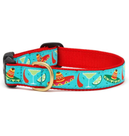 Up Country Inc. Up Country Dog Collar Wide Cinco De Mayo Medium
